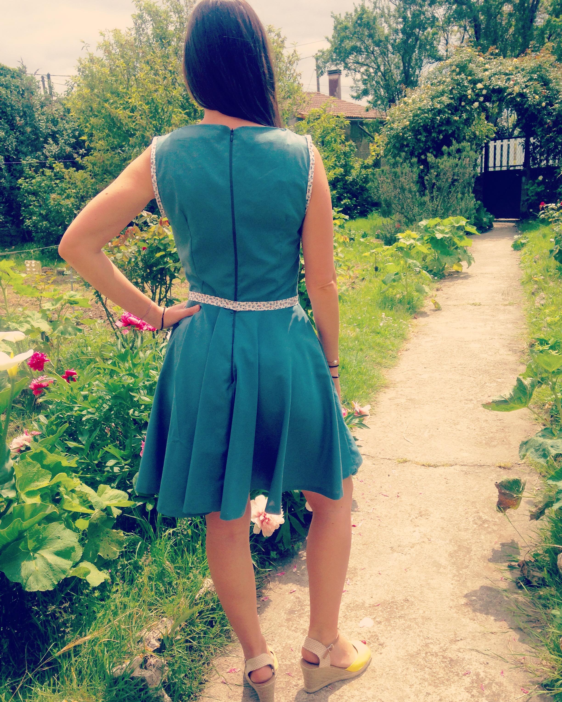 robe patineuse fait-main